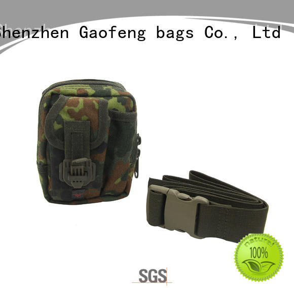 GF bags strengthen small tactical backpack customization for trip