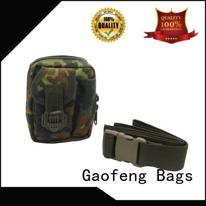 GF bags nylon military style backpack bulk production for trip