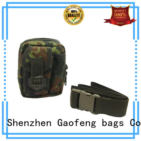strengthen army tactical bag bulk production for ladies GF bags