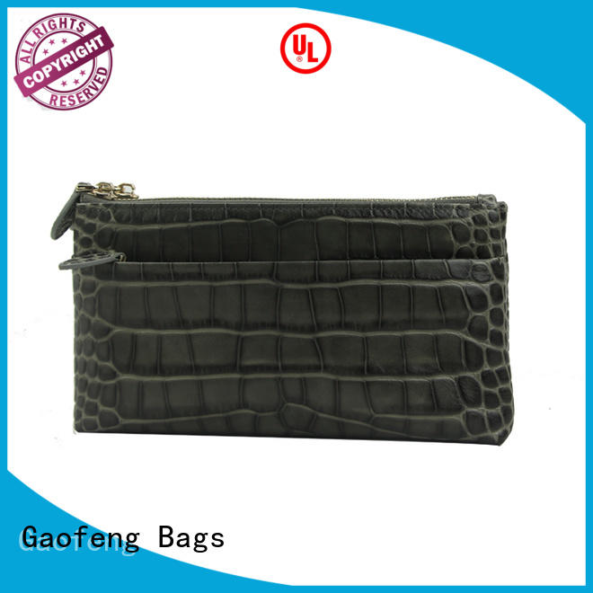 zipper fancy clutch bags bag cash storage GF bags