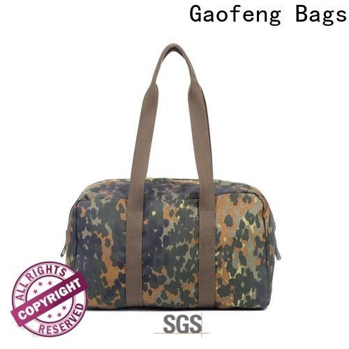 GF bags strap tactical man bag customization for shopping