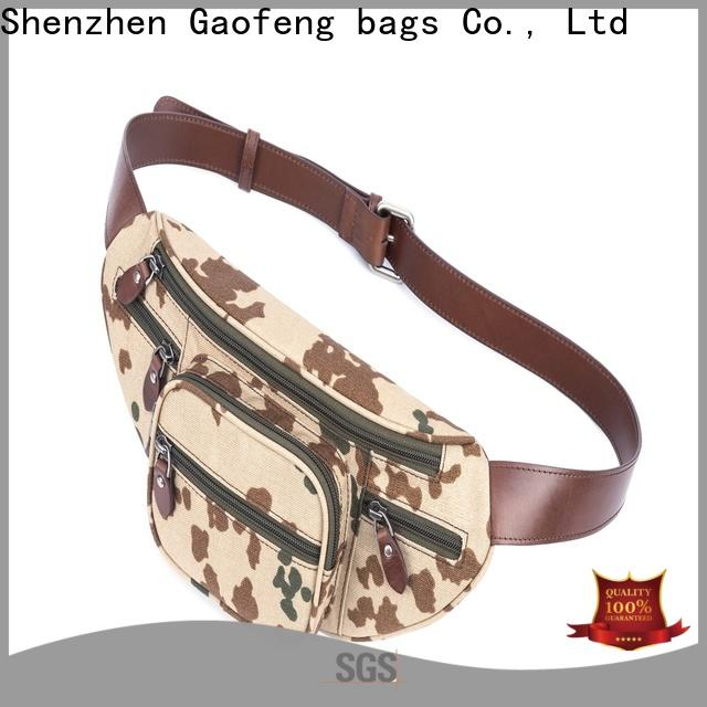 GF bags strap body bag supplier for travel