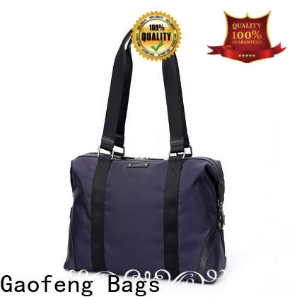 GF bags wholesale leather duffle bag mens supplier for male