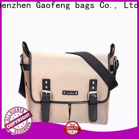 GF bags high-quality best leather messenger bag manufacturer for women