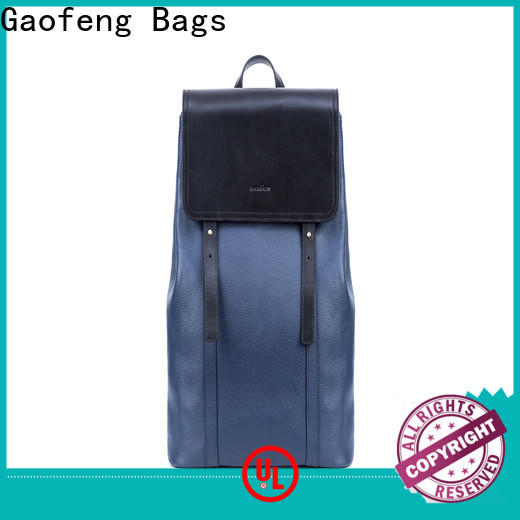 GF bags backpack outdoor backpack closure for travel
