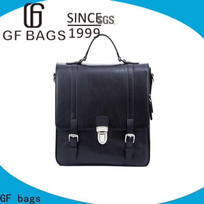 GF bags genuine leather mens leather laptop messenger bag for girls