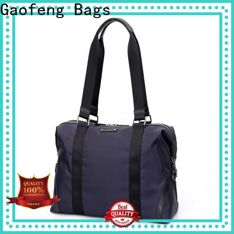 cheap mens overnight bag metal customization for male