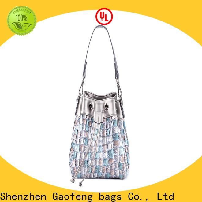 GF bags wholesale cheap shoulder bags manufacturer for cosmetics