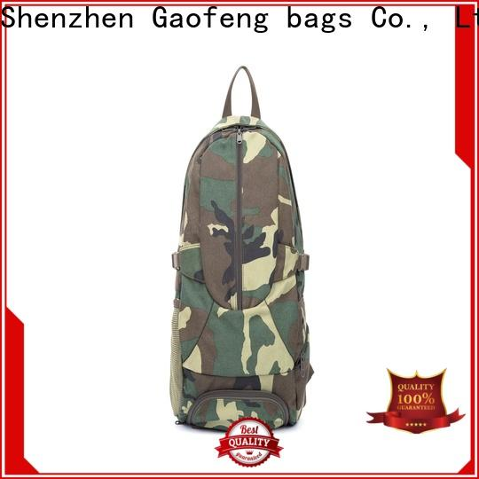 GF bags wholesale best tactical backpack bulk production for trip