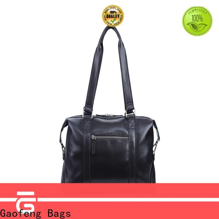 GF bags leather duffle bag mens manufacturer for boy