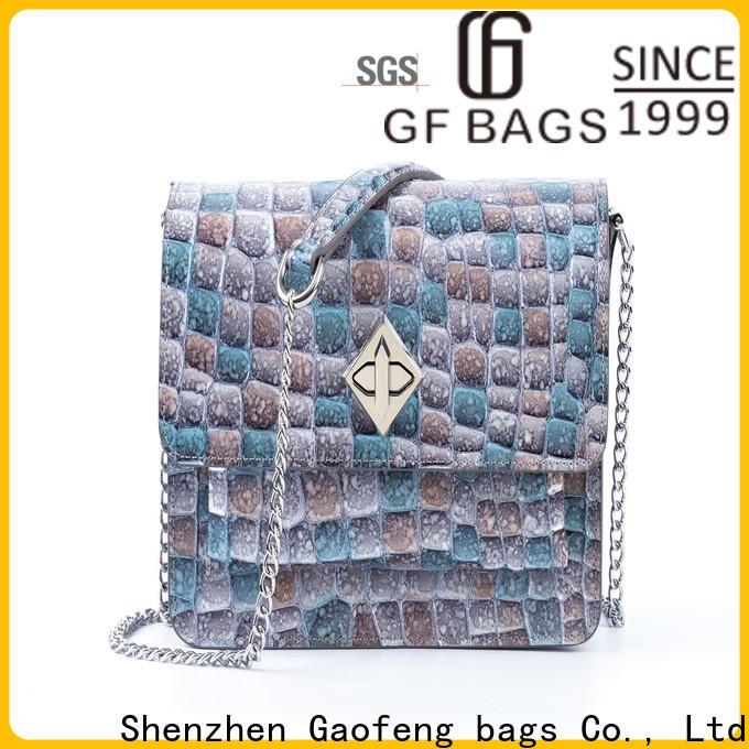 GF bags drawstring ladies shoulder bag supplier for shopping