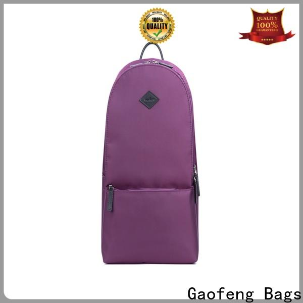 GF bags zipper backpack bags for school