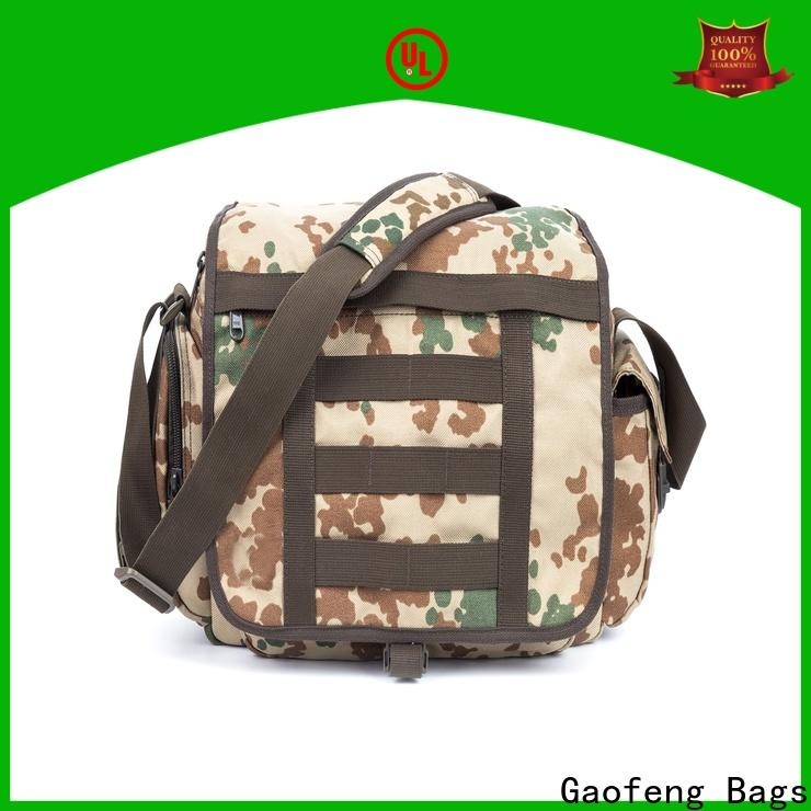 GF bags trolley military tactical vest customization for trip