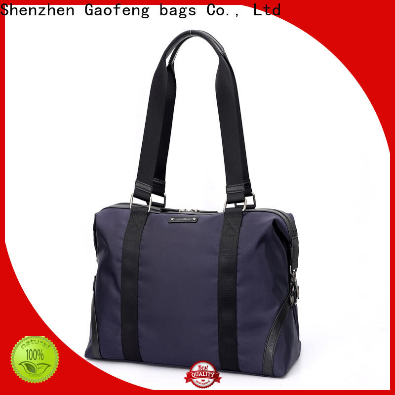wholesale leather duffle bag mens handle supplier for boy