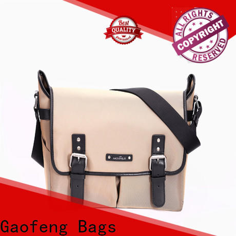 GF bags style best leather messenger bag bulk production for women