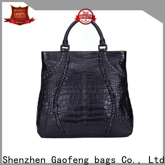 GF bags leather cover fashion handbags make for shopping