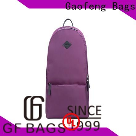 GF bags tanned nice backpacks for student