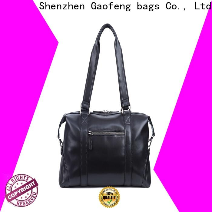 ODM leather duffle bag mens leather manufacturer for male