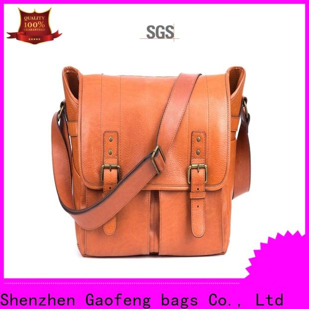 GF bags hot-sale male messenger bags bulk production for women