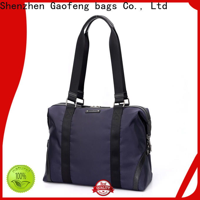 GF bags handle mens overnight bag bulk production for boy