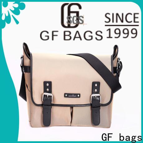 GF bags genuine leather mens leather laptop messenger bag manufacturer for girls