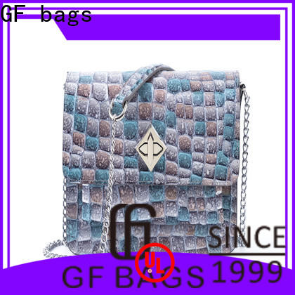 GF bags bucket leather shoulder bag women's supplier for shopping