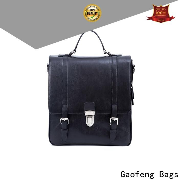 GF bags hot-sale computer messenger bag manufacturer for lady