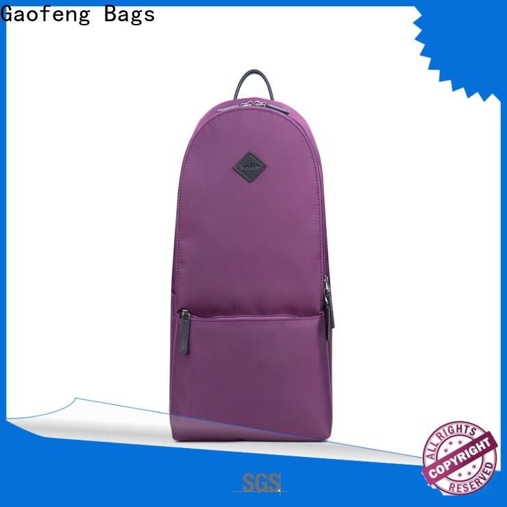 GF bags zipper backpack bags litres for travel