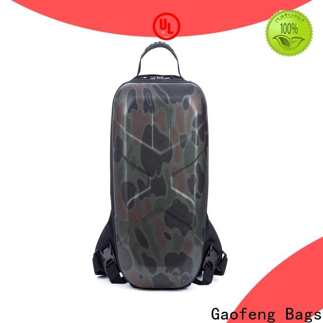 GF bags zipper tactical man bag bulk production for shopping