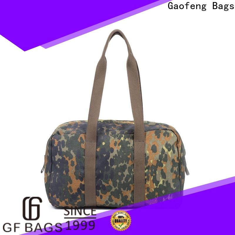 GF bags custom tactical shoulder bag inquire now for trip