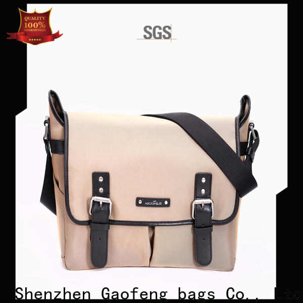GF bags genuine leather business bag supplier for girls