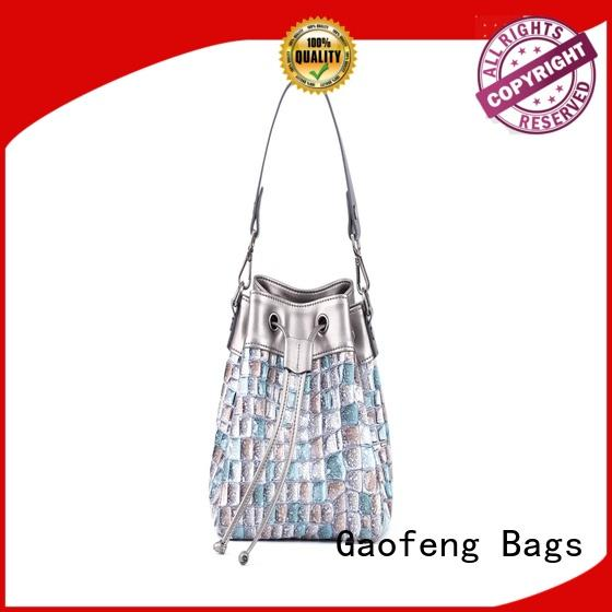 GF bags high-quality ladies shoulder bag supplier for ladies