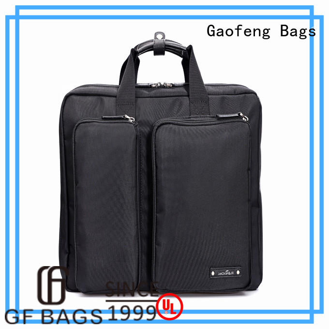leather high end briefcase pattern for business trip GF bags