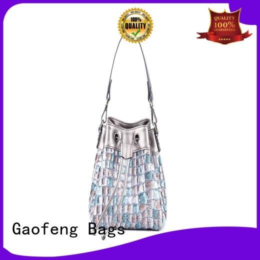 GF bags shoulder girls shoulder bag supplier for cosmetics