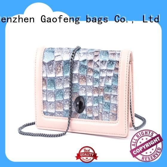 GF bags turn bag mini bulk production for ladies