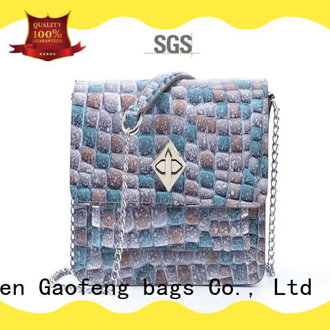 GF bags high-quality beautiful shoulder bags drawstring for ladies