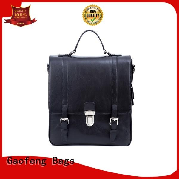 GF bags genuine leather best leather messenger bag bulk production for lady