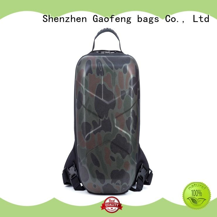 strap low profile tactical backpack zipper for trip GF bags