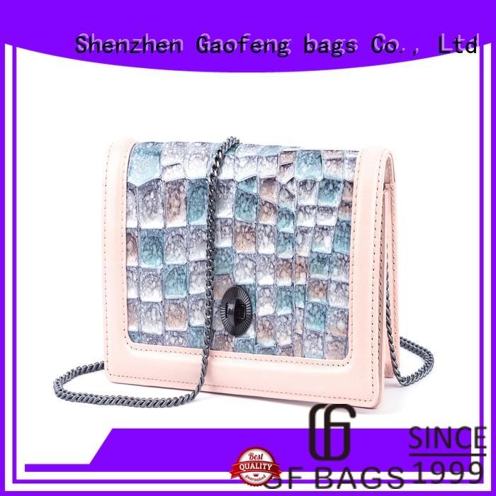 GF bags hot-sale small designer bags bulk production for ladies