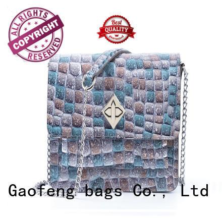 GF bags wholesale best shoulder bags manufacturer for cosmetics