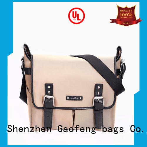 GF bags hot-sale stylish mens messenger bags manufacturer for lady