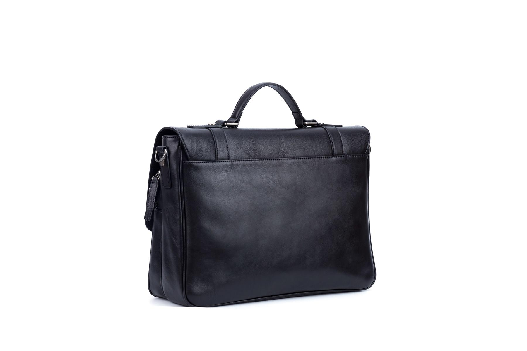 Messenger Bags genuine leather 18 inch cover style