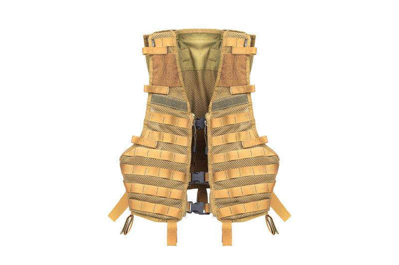 Military vest nylon fabric buckle closure