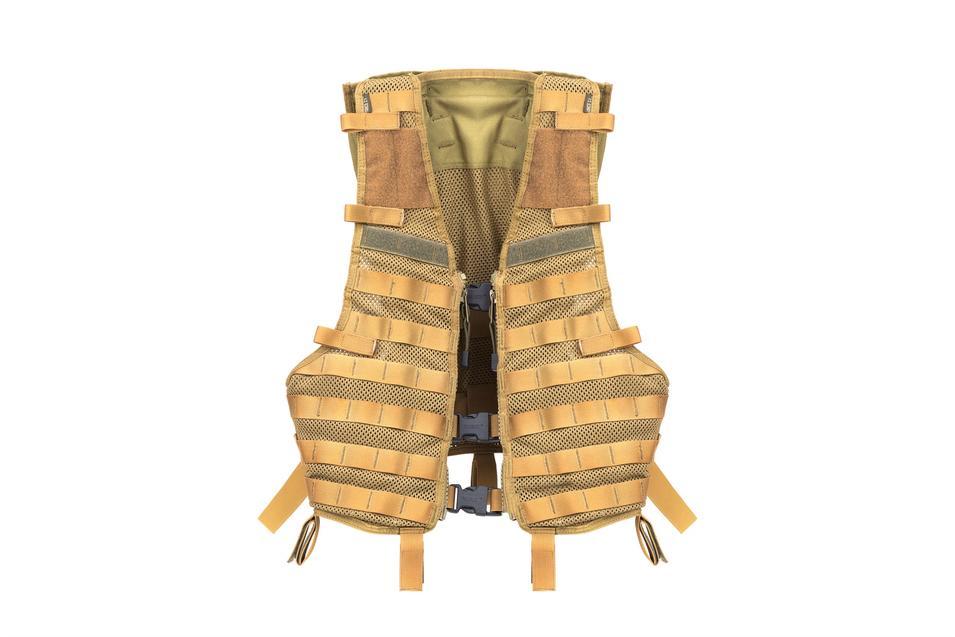 Military vest nylon fabric buckle closure