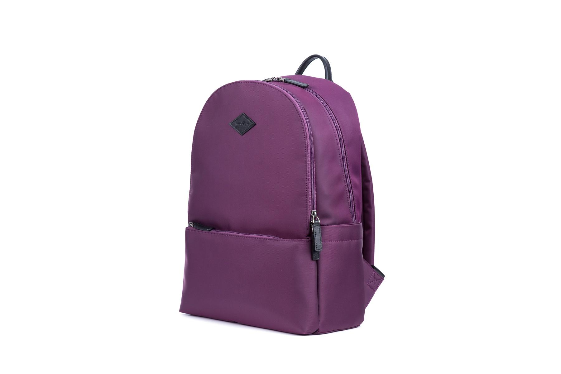 Backpack Nylon fabric large capacity with zipper closure