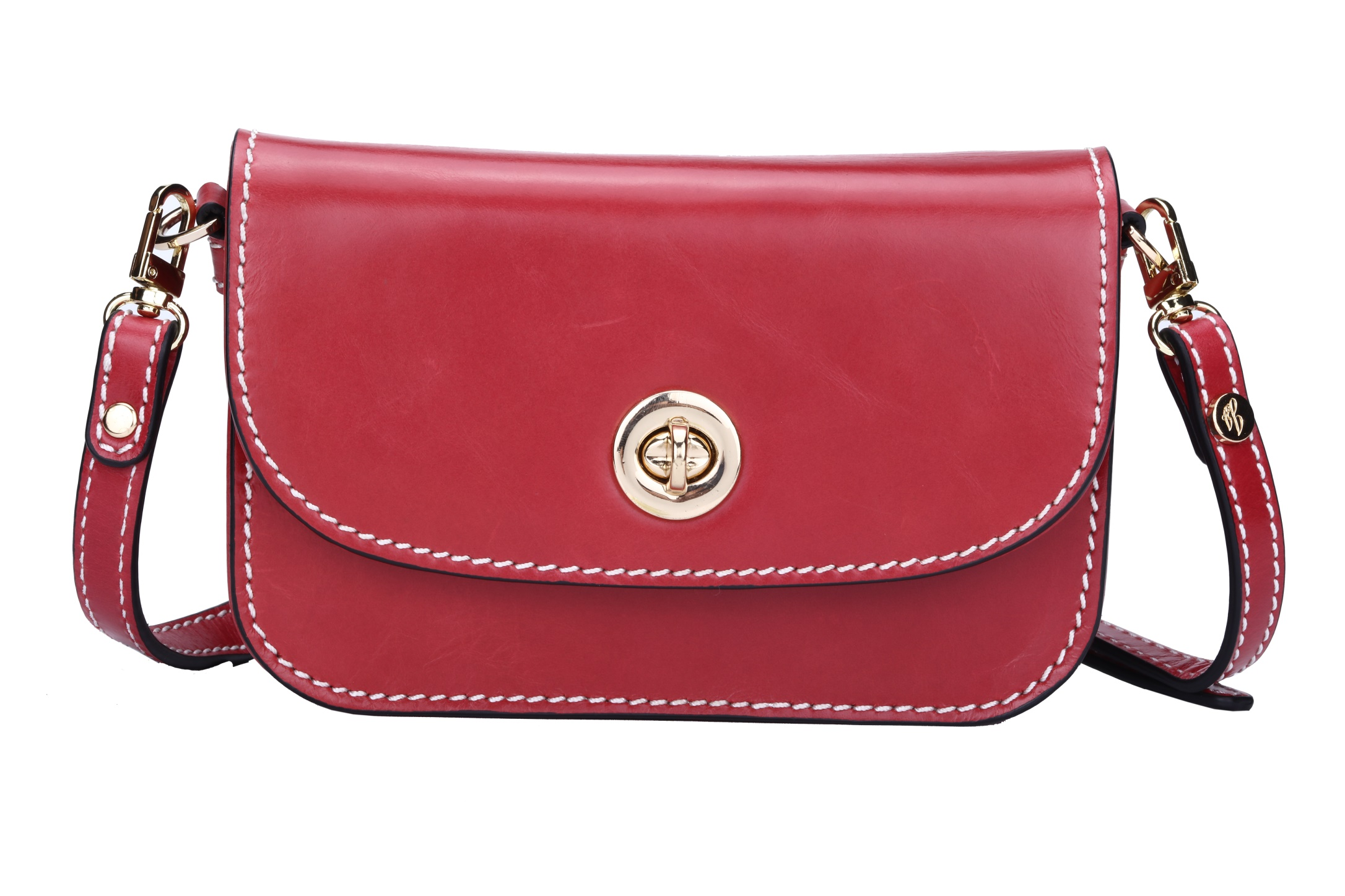 GF bags-Evening Clutch Bags small genuine leather with metal lock-1