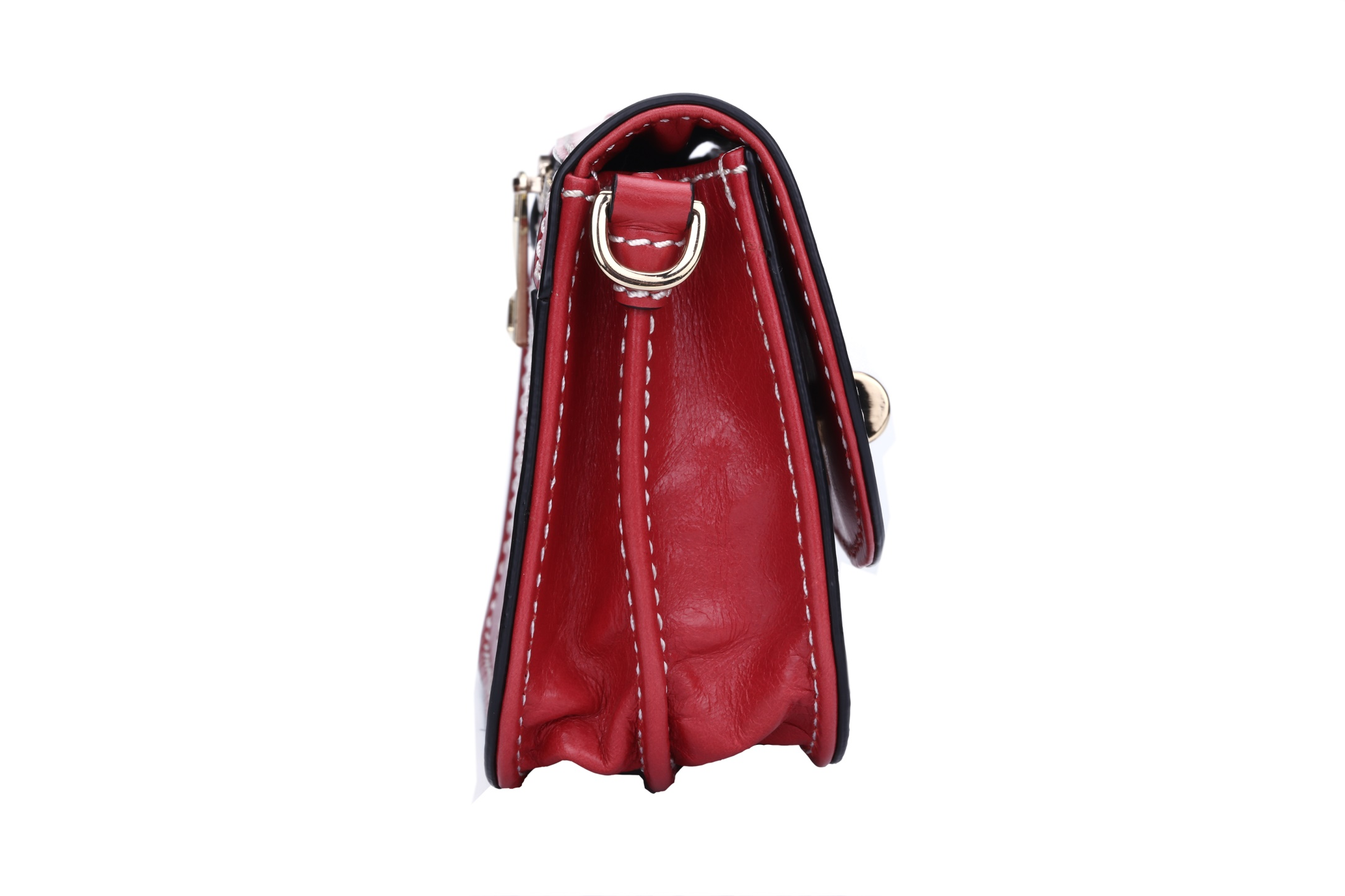 GF bags-Evening Clutch Bags small genuine leather with metal lock-2