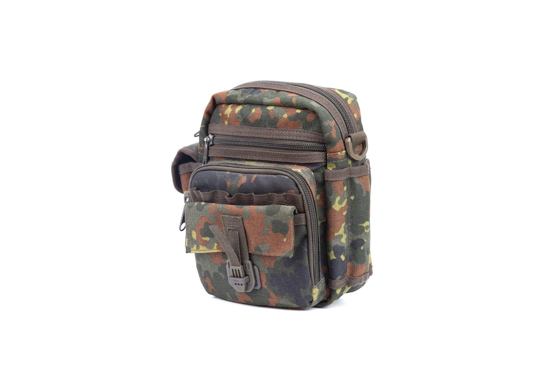 Military Crossbody Bag Nylon fabric zipper closure
