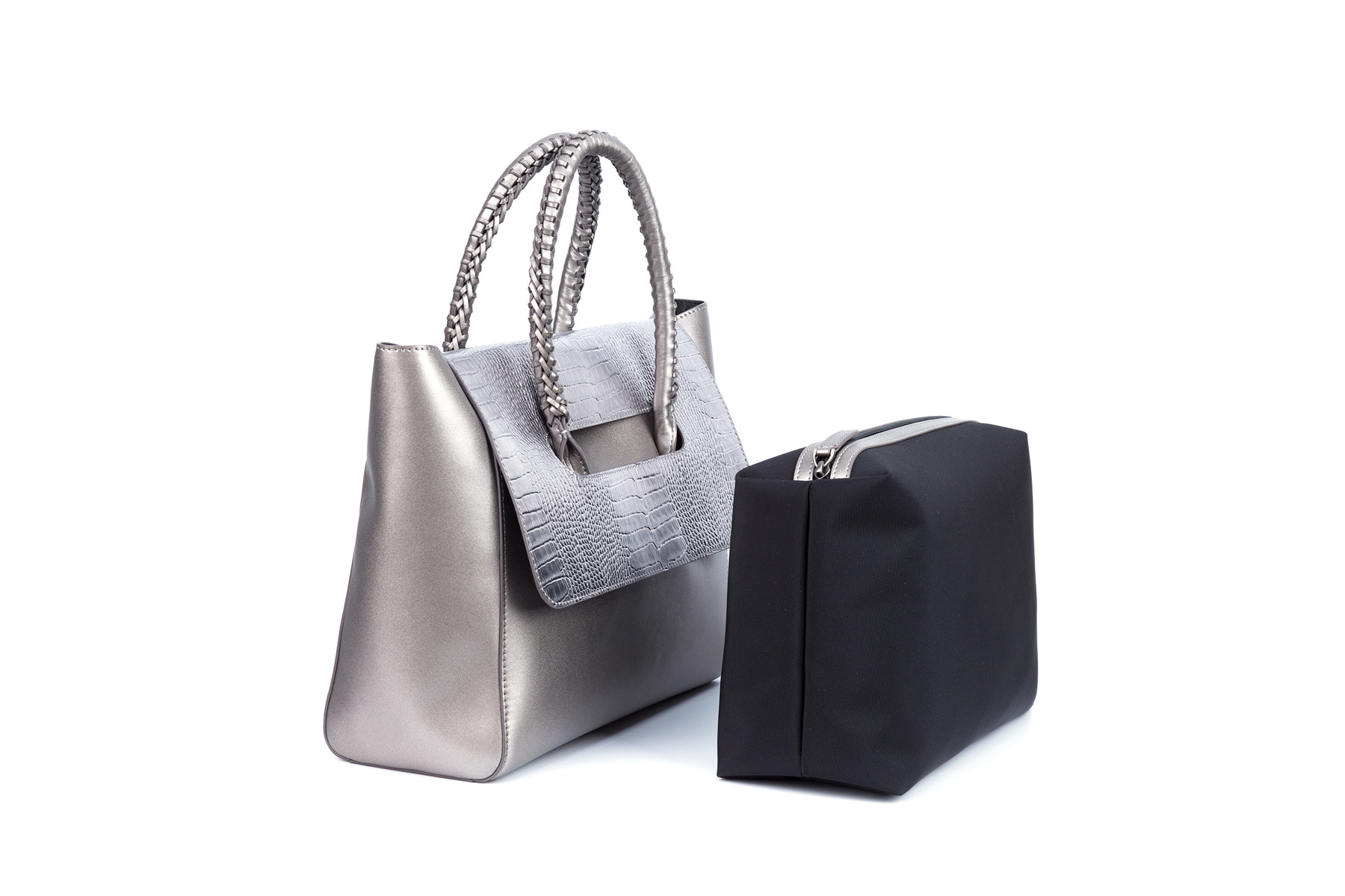 GF bags microfiber ladies bag metal for ladies-8