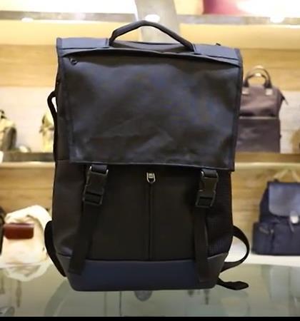 Gaofeng Backpack Wholesale, Black Canvas Backpacks for Laptop, Travel Bagpack